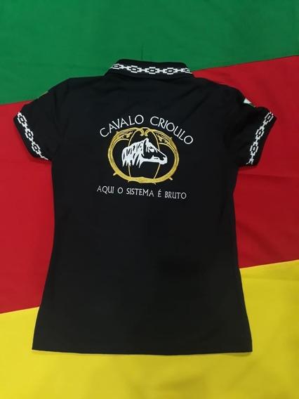 Polo Feminina Cavalo Crioulo
