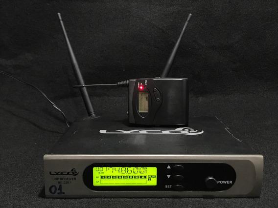 Microfone Sem Fio Lyco Uh228.1 Lapela 1441 Freq.
