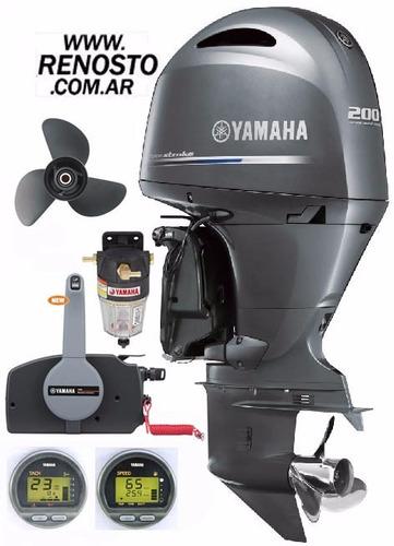 Motores Yamaha 200hp 4t 4 Cilindros Pata Larga Renosto