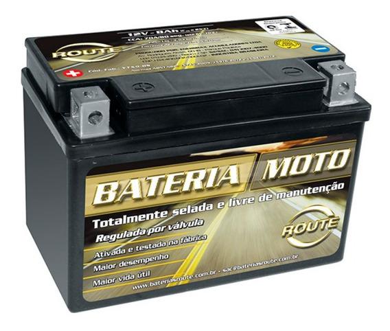 Bateria Route Ytx9-bs Street Triple 675 Ninja 250 Z 300 400