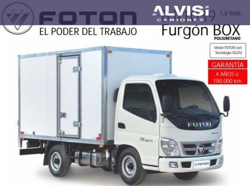 Foton Aumark Rueda Sencilla 1039 Box Furgon Precio Sin Iva