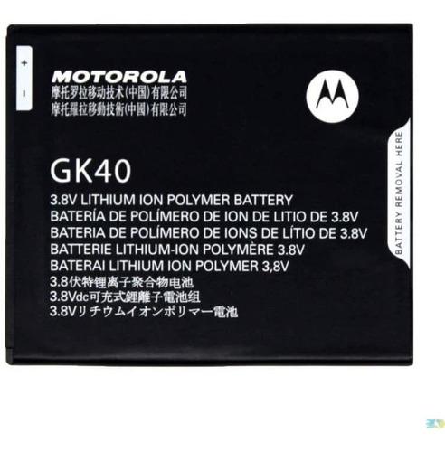 Imagen 1 de 1 de Motorola Gk40 - Bateria De Repuesto Para Cedric Moto E3, Mo