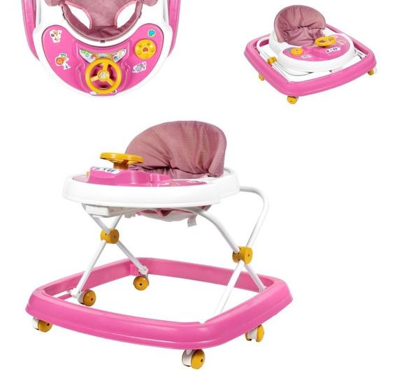 Andador Musical Infantil Bebê Menina Menino Barato Ams3