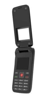 Celular De Flip Infinity F1808 Preto - Dual Chip, Rádio Fm,