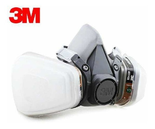 Respirador 6200 3m Filtro 5n11 Cartucho 6001 Retenedor 501