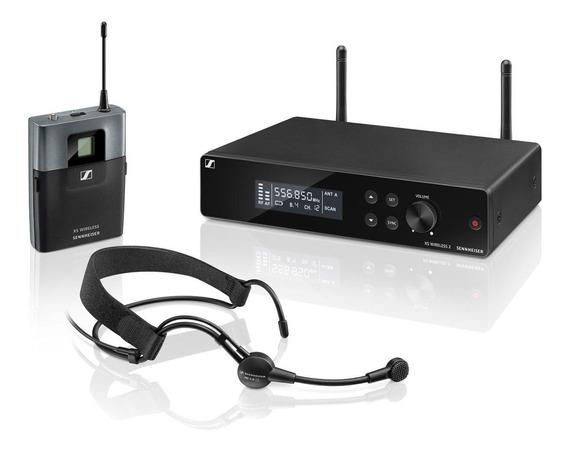 Microfone Headset Sem Fio Sennheiser Xsw 2-me3-a