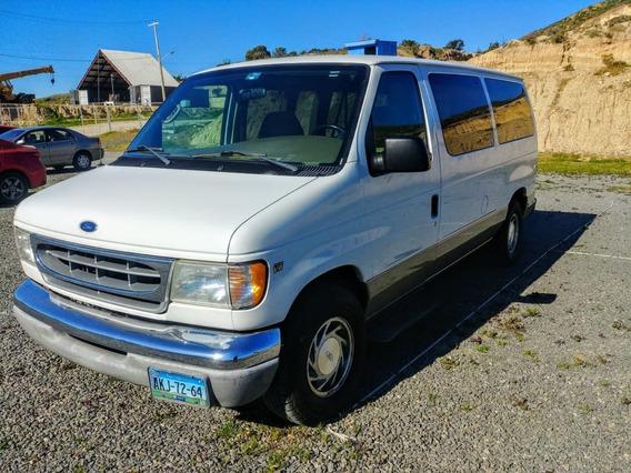 Ford Van 2000 Pasajeros Equipada Con Dos Grúas Discapacidad