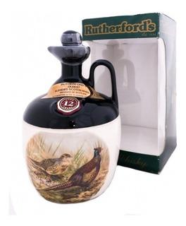 Whisky Rutherfords 12 Años Escoces En Vasija Decanter C/est