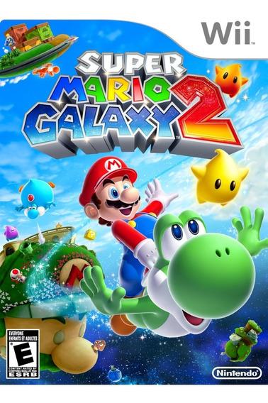 Super Mario Galaxy 2 Original - Nintendo Wii Novo Lacrado