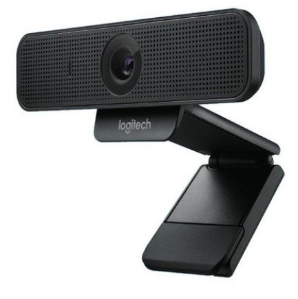 Webcam Logitech C925e Hd Com Vídeo 1080p 30fps Preta