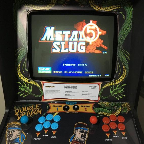 Metal Slug 5 Bootleg Para Neo Geo Mvs Ou Consolized Nazca