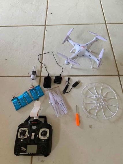 Drone Syma X5sw Com Câmera Em Perfeito Estado Com 5 Baterias