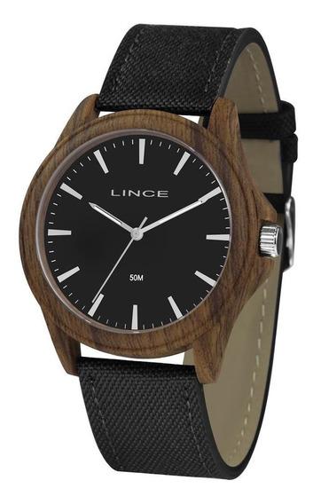 Relógio Lince Masculino Ref: Mrc4613p P1pm Casual Amadeirado