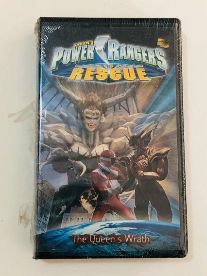 Fita Antiga Vhs Powers Ranger Rescue Lacrada