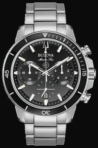 Relogio Masculino Bulova Marine Star 96b272 - Frete Gratis
