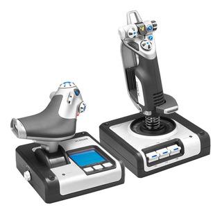 Simulador De Vuelo Pc X52 Digital Logitech G