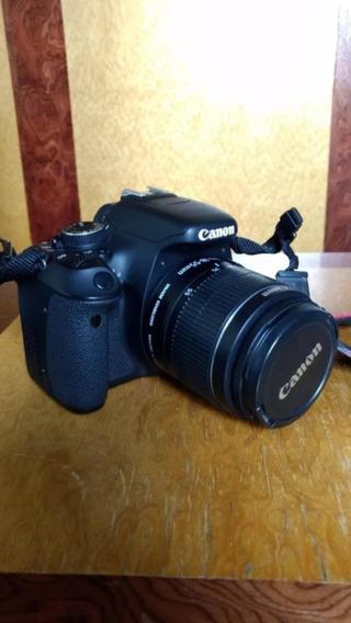 Camera Dslr Canon T3i Com Lente 18-55mm. 12x Sem Juros