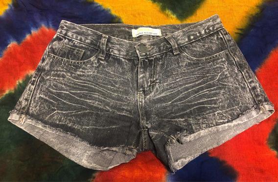 Short Pantalon Corto Jean Talle 42 Negro