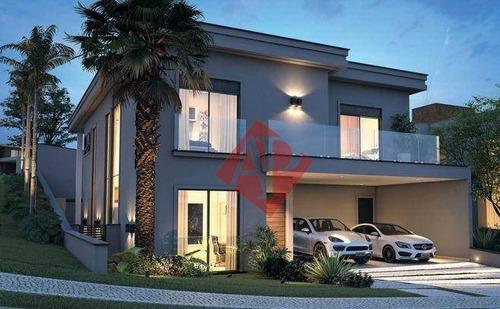 Casa Com 4 Dormitórios À Venda, 402 M² Por R$ 2.850.000 - Ithayê - Alphaville! - Ca1466