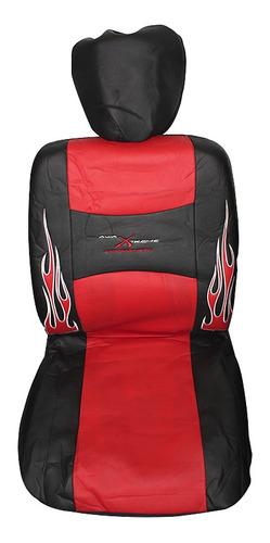 Cubre Asiento Universal Rojo Kit Tunning