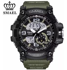 Relógio Digital Esportivo Casual Aprova D Água Militar Preto