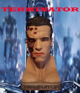 Terminator Busto Impresión 3d