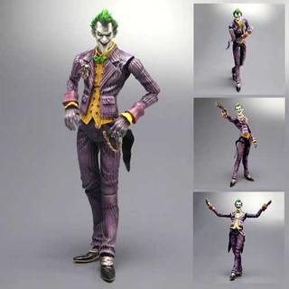 Joker Play Arts Kai Arkham Asylum Figura Dc Original Batman