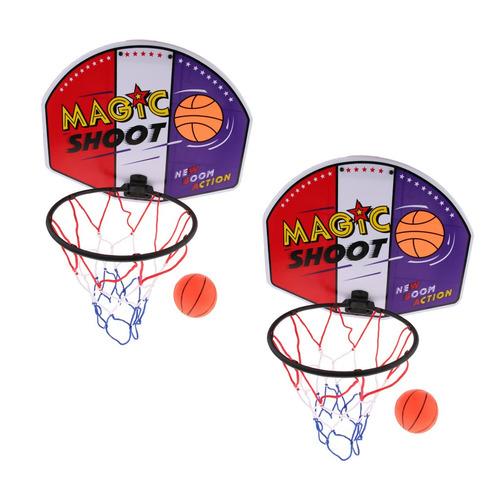 Imagen 1 de 6 de 2 Unids Juego De Baloncesto Para Diversión De Interior