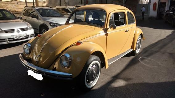 Placa Preta - Volkswagen Fusca 1979 - Colecionador