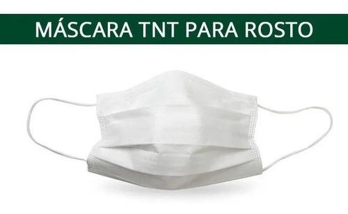 300 Máscaras Descartáveis - Tnt C/ Dupla Camada - Elástico