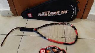 Raqueta Wilson De Rollers 175 Reparada El Encordado Esta Bie
