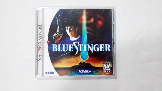Blue Stinger Capa Reimpressa Original - Sega Dreamcast