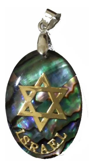 Pingente Estrela De Davi - Direito De Israel 2