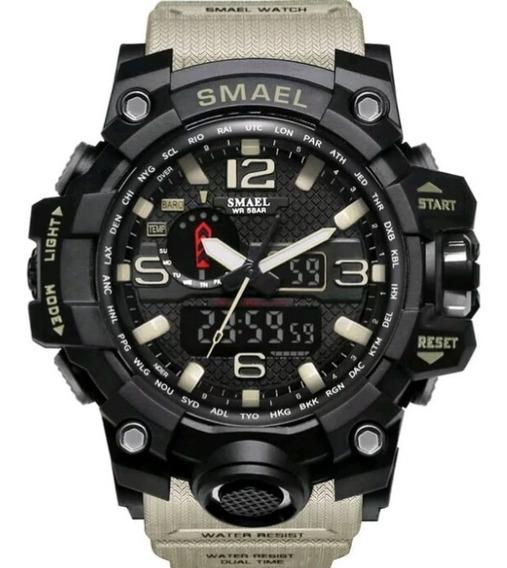 Relógio Esportivo Smael Caqui A Prova D
