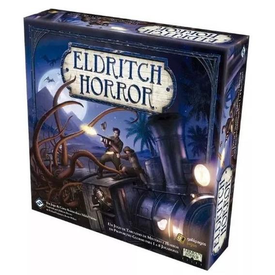 Jogo Eldritch Horror Board Game Português Galapagos