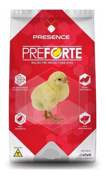 Raçao Preforte Para Pintinhos Inicial 20kg Presence