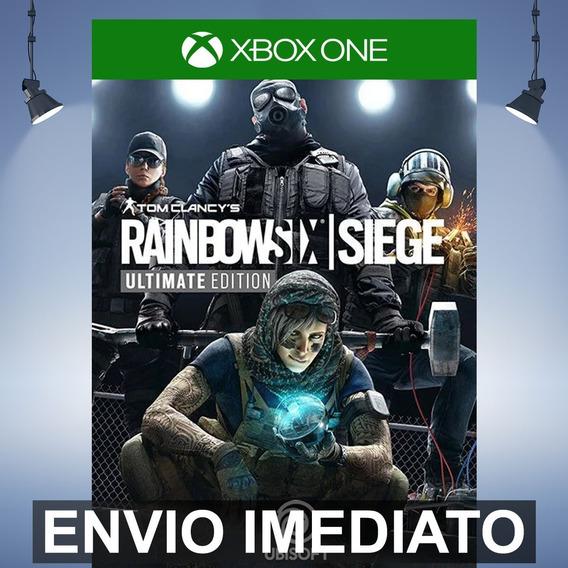 Rainbow Six Siege Ultimate - Xbox One Código 25 Dígitos