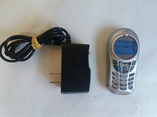 Antigo Motorola C115 Com Carregador Da Operadora Oi