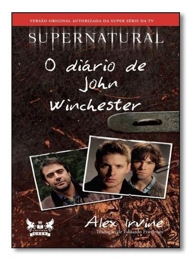 Livro O Diário De John Winchester