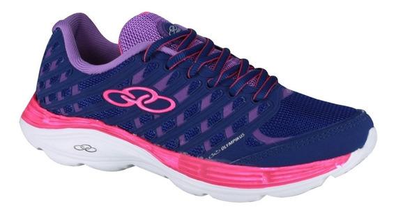 Olympikus Zapatilla Running Mujer Flix Cobalto Violeta