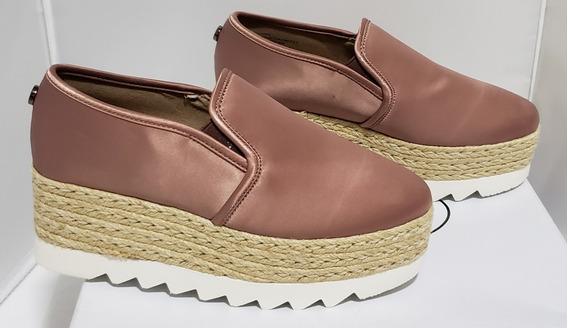 Zapatos Zapatillas Tacones Tenis Steve Madden Kenning Satin