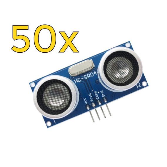 50x Sensor De Distância Ultrassônico Hc-sr04 - Arduino