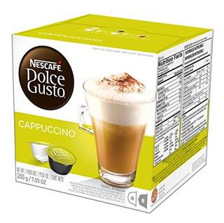 Nescafé Cápsulas De Café Dolce Gusto Cappuccino 48 Vainas De