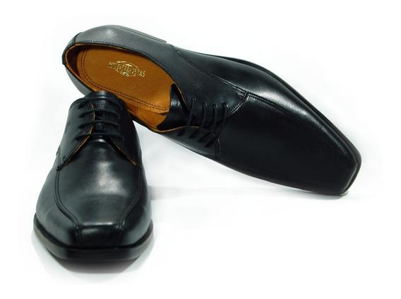 Zapatos Vestir Cuero Vacuno Justicialistas Scalabrini Negros