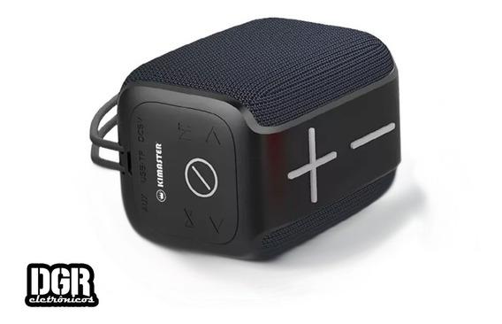 Caixa De Som Portátil Bluetooth Ipx6 Kimaster K-400