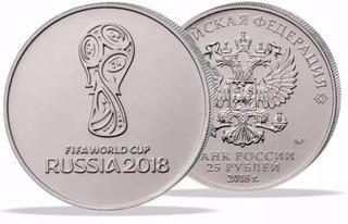 Moeda Copa Da Rússia 2018