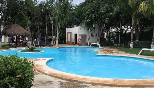 Casa En Renta Los Olivos 3 Recamaras Con Alberca Playa Del Carmen P3023