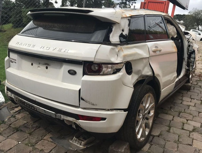 (21) Sucatas Land Rover Evoque 2.0 2012 Retirada Peças