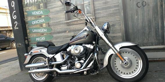 Harley Davidson Softail Fat Boy 2009 - Prata
