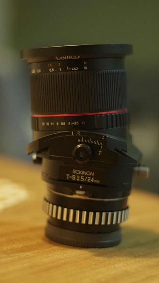 Lente Samyang Tilt Shift 24mm 3.5 Sony